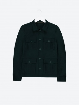 Oscar Jacobson Safari Shirt Jacket