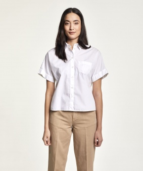 Morris Skjorta Margot Short Sleeve