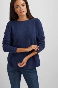 DAVIDA Curved sweater