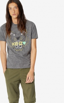 KENZO T-shirt herr, Tiger