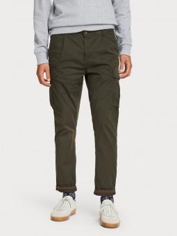SCOTCH & SODA Byxor, garment dyed cargo