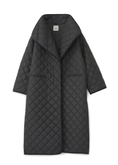 Totême Coat Annecy Quilted