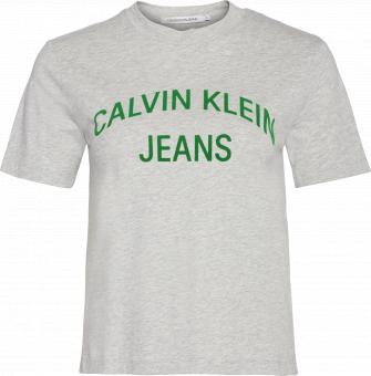 CALVIN KLEIN T-shirt INST. CURVED LOGO ST