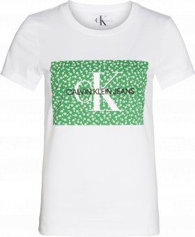CALVIN KLEIN T-shirt MONOGRAM FLOWER BOX