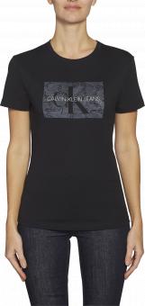 CALVIN KLEIN T-shirt, Monogram lace box slim