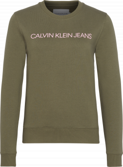 CALVIN KLEIN Tröja, Institutional regular crew neck