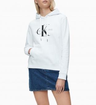 Calvin Klein Hoodie Monogram Relaxed