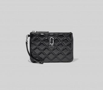 Marc Jacobs Clutch The Quilted Softshot Wristlet