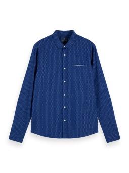 SCOTCH & SODA Skjorta, Regular-fit pochet pocket