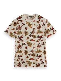 Scotch & Soda T-shirt Allover Print