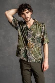 OSCAR JACOBSON Skjorta Kort-ärm, Hilmer reg shirt