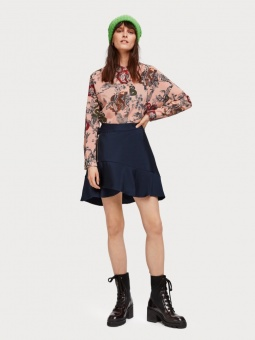 SCOTCH & SODA Blus, Oversized boxy fit