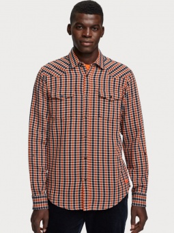 SCOTCH & SODA Skjorta, REGULAR FIT- Western shirt 0217