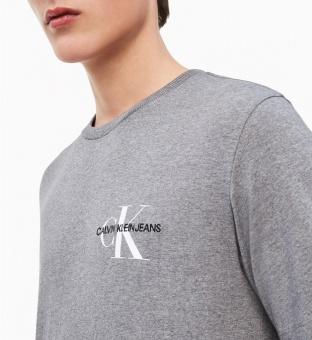 CALVIN KLEIN T-shirt, Monogram embro regular chest