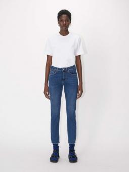 TIGER OF SWEDEN Jeans, Lea BLÅ stickning