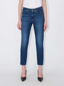 TIGER OF SWEDEN Jeans, Lea GUL stickning