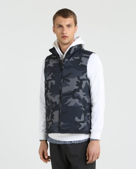 WOOLRICH camou väst reversible