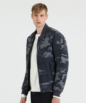 WOOLRICH Bomber CAMOU REV BOMBER