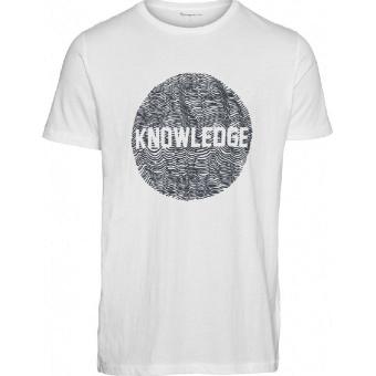 Knowledge Cotton T-shirt Alder O-neck