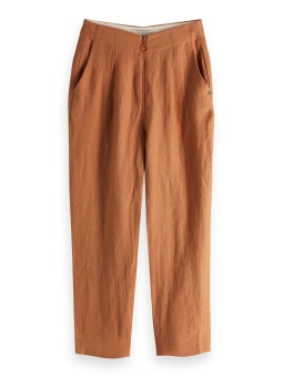 SCOTCH & SODA Byxa, Drapey textured tailored pants