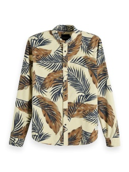 SCOTCH & SODA Skjorta REGULAR FIT - All-over printed twill shirt