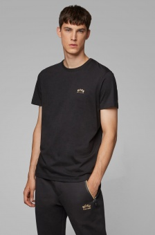 HUGO BOSS T-shirt, curved