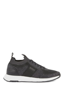 Hugo Boss Skor/Sneakers, Titanium