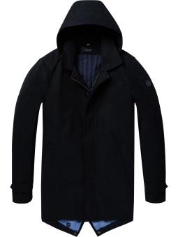 SCOTCH & SODA Classic parka jacket with fixed inner body warmer