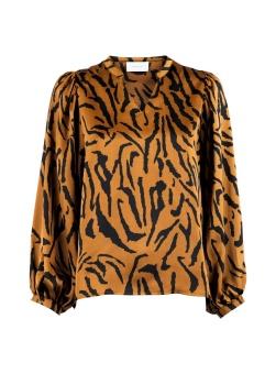 Neo Noir Blus Solde Satin Zebra