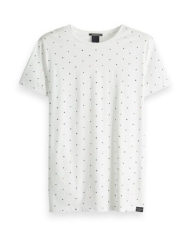 SCOTCH & SODA T-shirt Classic cotton-jersey crewneck