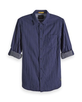 SCOTCH & SODA Skjorta REGULAR FIT- Shirt in bonded yarn-dyed quality