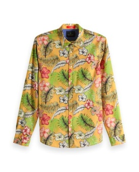 SCOTCH & SODA Skjorta REGULAR FIT- Colourful all-over printed shirt