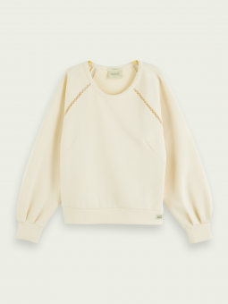 Scotch & Soda Tröja Crewneck Sweat