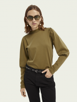 Scotch & Soda Topp With Special Long Sleeves