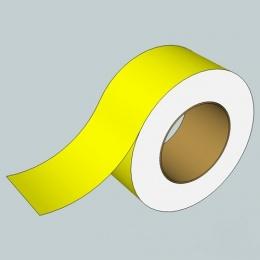 Golvmarkeringstejp, Gul, B= 60 mm L= 25 met