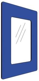 Informationshållare IC Blå passar A4 (Stängd)