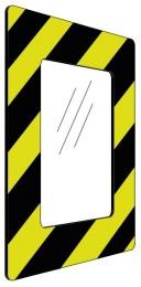 Informationshållare IC Gul/Svart passar A4 (Stängd)