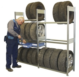 Däckställ- Garage kompl paket