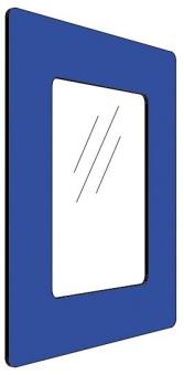 Informationshållare IC Blå passar A5 (Stängd)