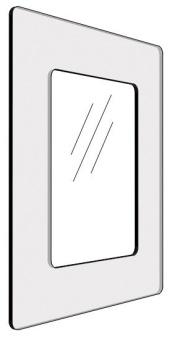 Informationshållare IO Blå passar A5 (Öppen)