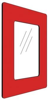Informationshållare IC Röd passar A5 (Stängd)