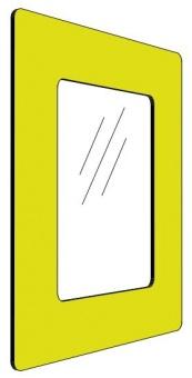 Informationshållare IC Gul passar A5 (Stängd)