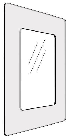 Informationshållare IC Transparant passar A4 (Stängd)