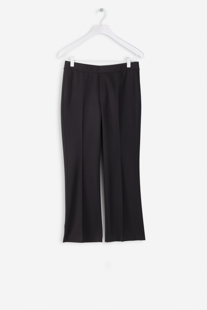Poe Cropped Jersey Pant 1433 black