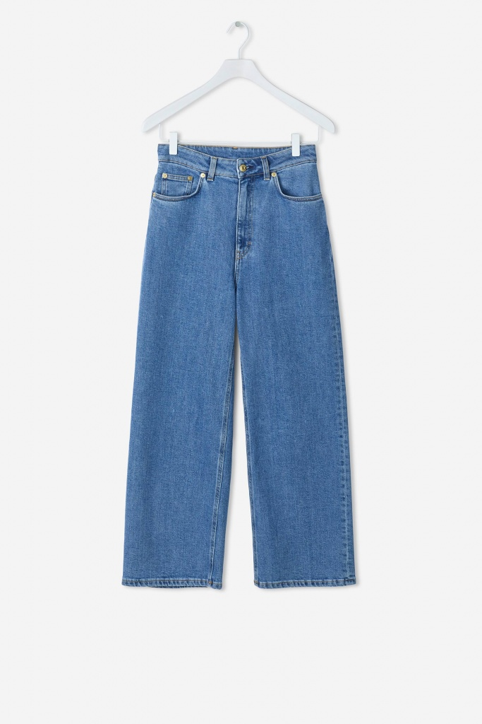 Laurie Washed Jeans mid blue