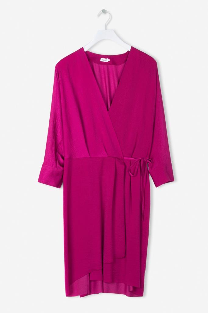 Slinky Wrap Dress 7831 Orchid