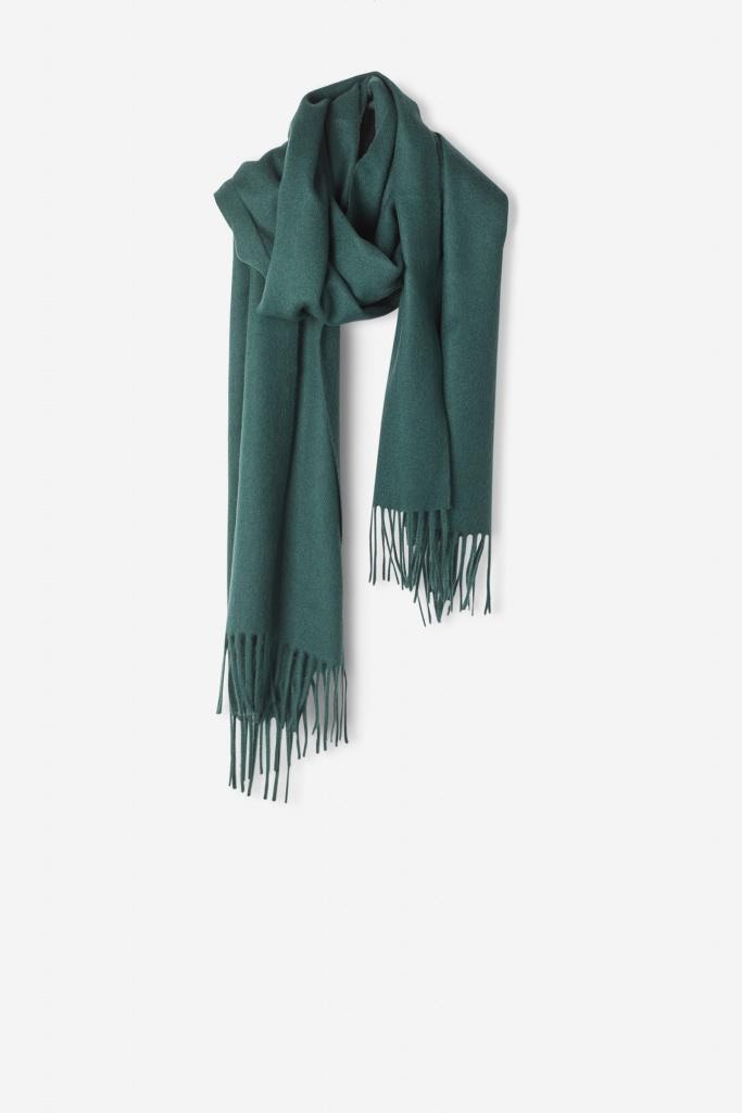 Cashmere Blend Scarf Emerald