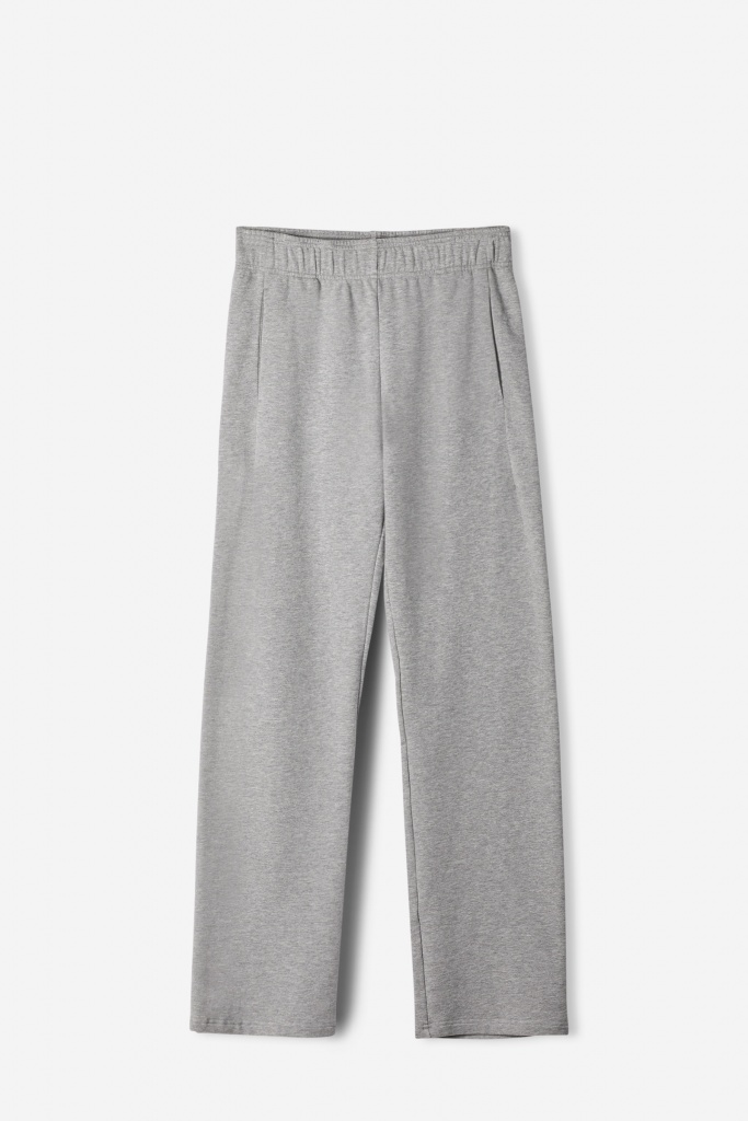 Brushed Sweat Pants Grey Mel.