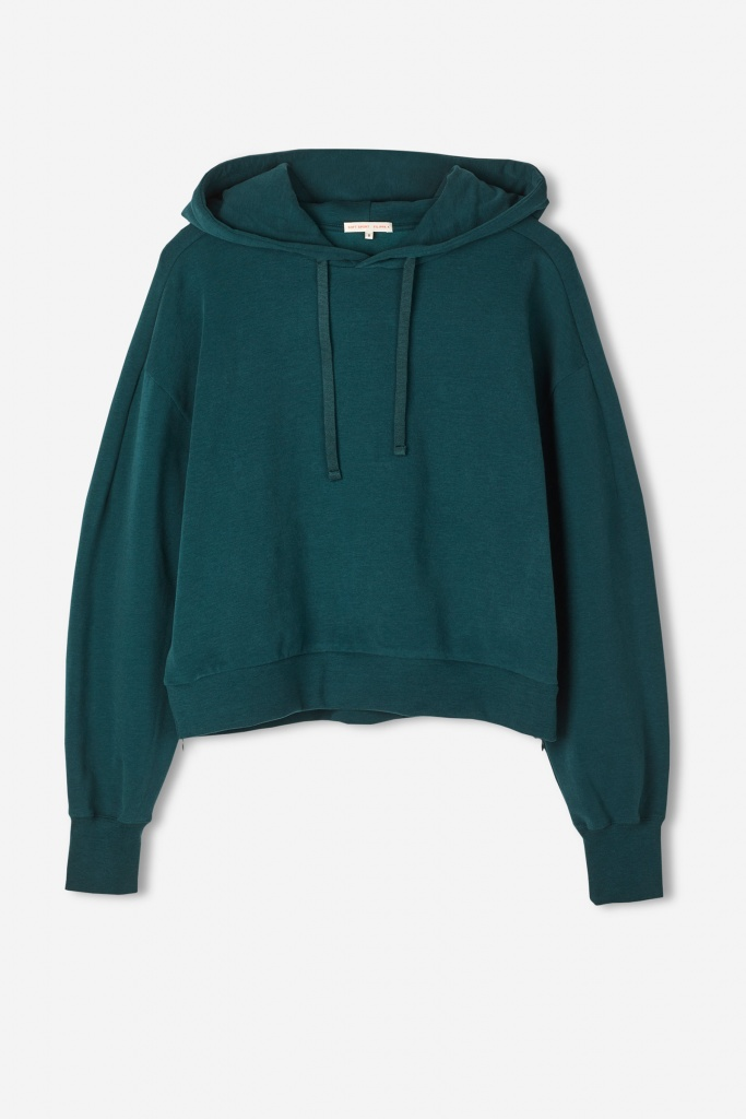 Brushed Hoodie Emerald