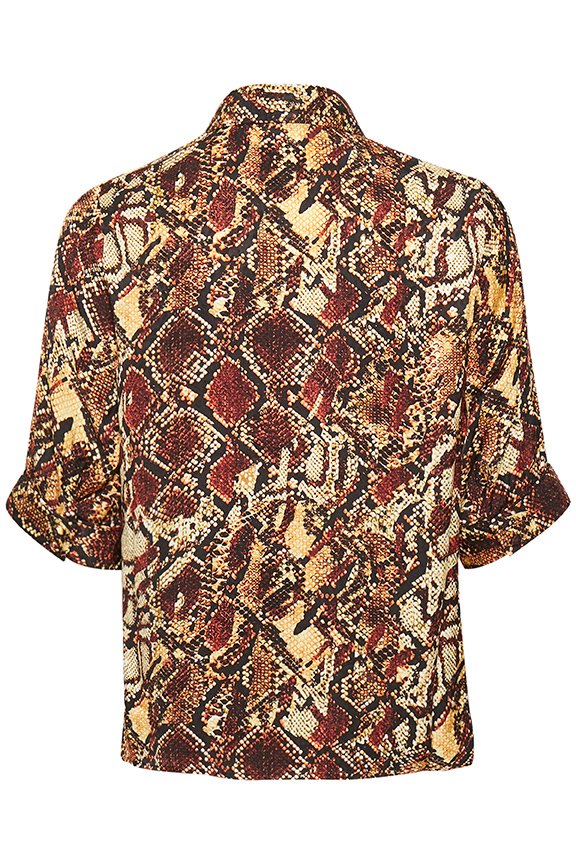 ChellaGZ shirt Red/yellow snake